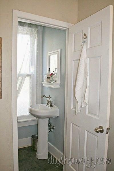 Decorar Baño De Visitas:Muebles y Decoración de Interiores: Cómo decorar un baño de visita