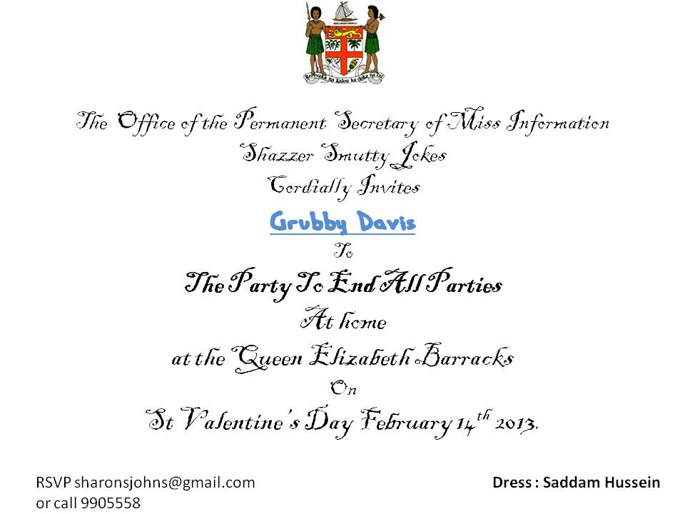 Please Present This Invitation At The Entrance Best Custom