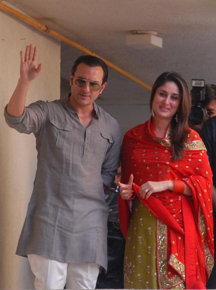 registered court marriage civil wedding of kareena kapoor and saif ali khan nikaah