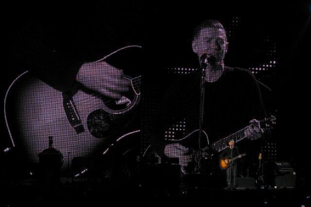 Bryan Adams en concierto el 26 de Noviembre 2011 en el AECC de Aberdeen