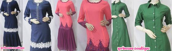 Koleksi baju raya 2013, kedai shopping online, shopping online Iprincess Boutique, Baju kurung, jubah raya 2013, baju peplum raya 2013