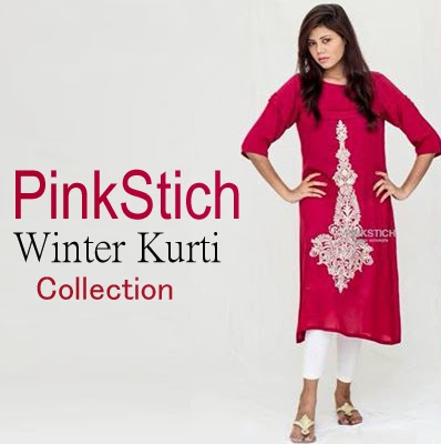 Stylish-Pinkstich-Winter-Kurti-Collection