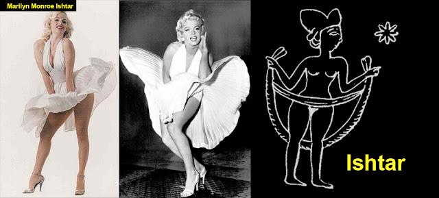 Marylin Monroe. ¿Representación de la Diosa Ishtar? Marilyn-monroe-ishtar