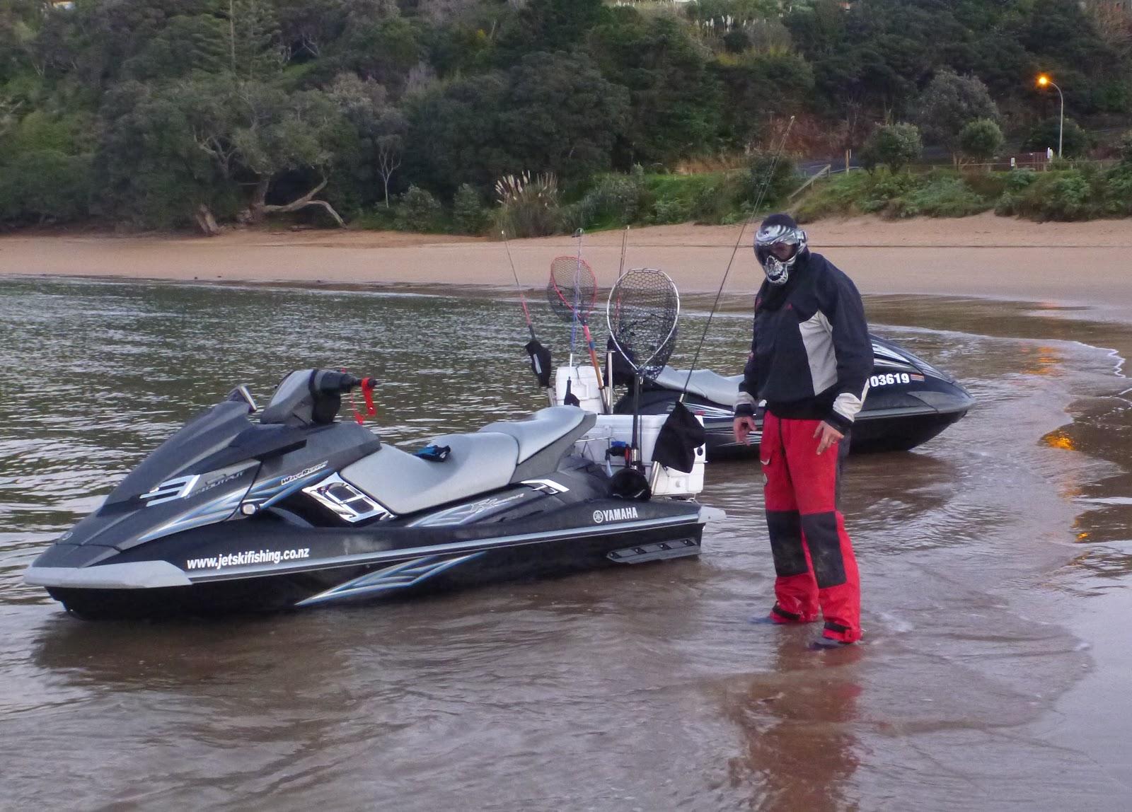 Jet ski fishing blog september 2012 for Fishing jet ski