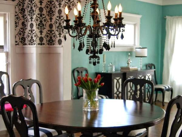 vintage wall paint ideas for dining room