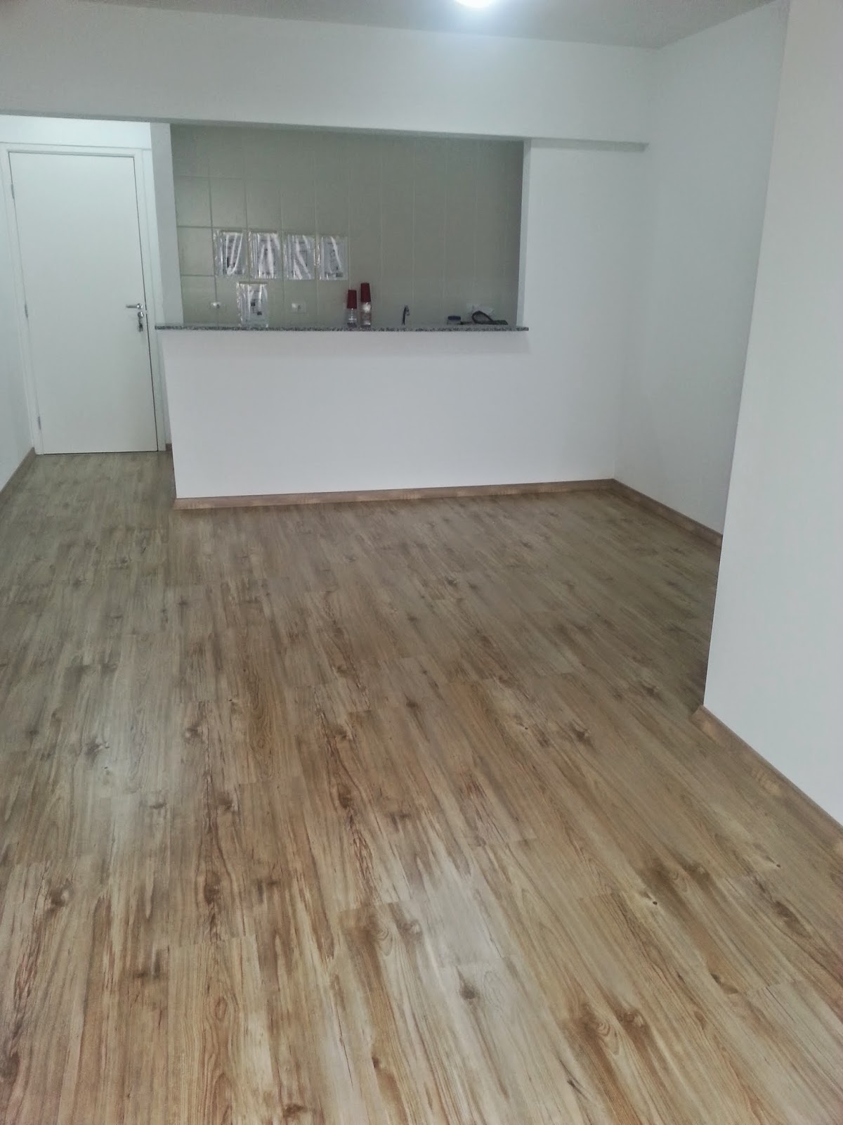 Casa da fl piso laminado ou porcelanato e o escolhido - Colocar piso vinilico ...