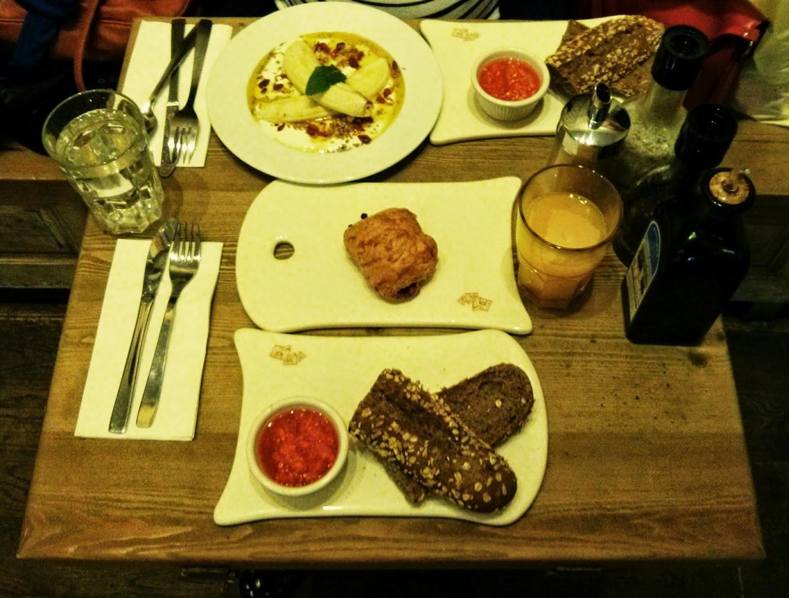Le Pain Quotidien - Desayuno