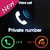 برنامج اجعل رقمك برايفت نمبر للاندرويد - Hide Phone Number APK