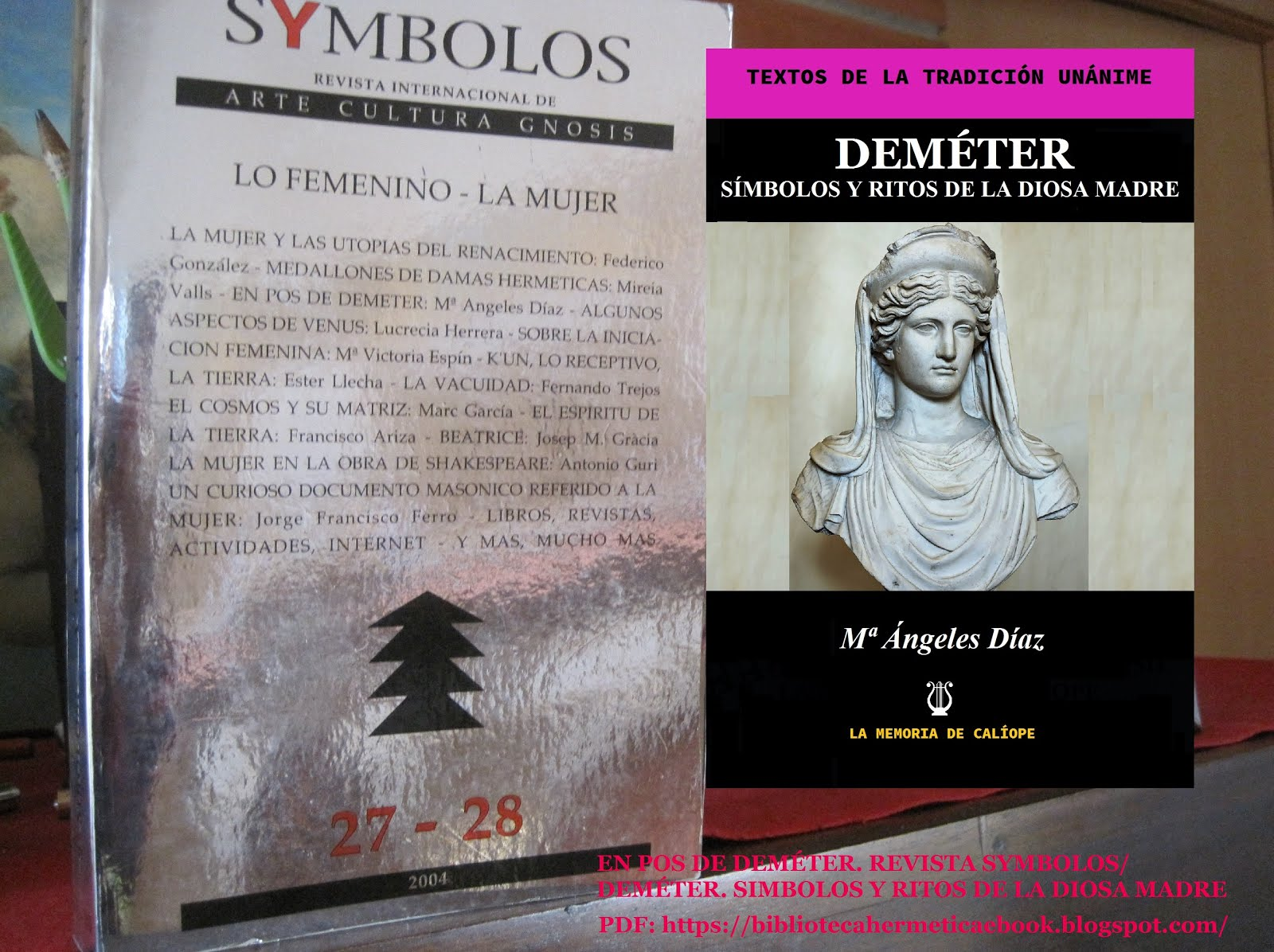 BIBLIOTECA HERMÉTICA LA MEMORIA DE CALÍOPE
