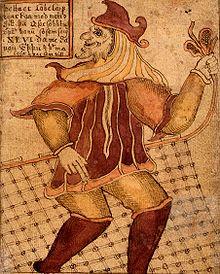 Loki - 18th century Icelandic manuscript