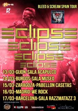 Eclipse en Burgos, Madrid, Gijón, Zaragoza y Barcelona en marzo