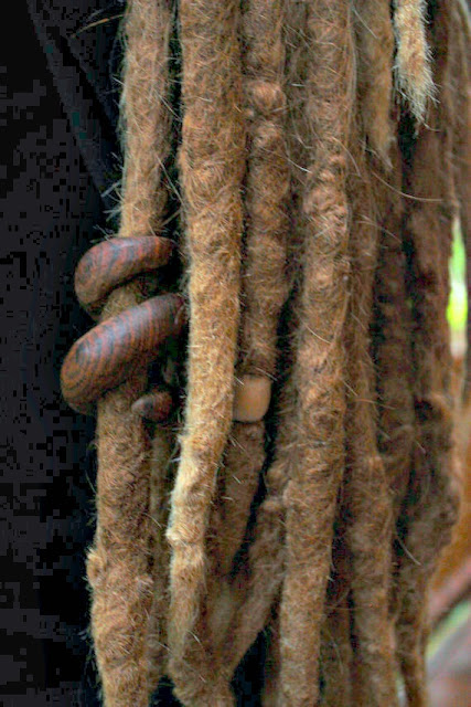 Tribal Wooden Dread Bead