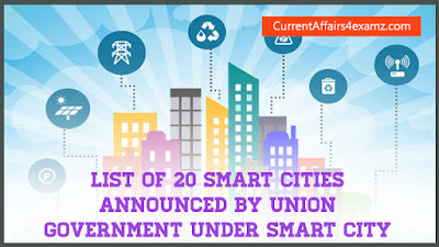 List of 20 Smart Cities