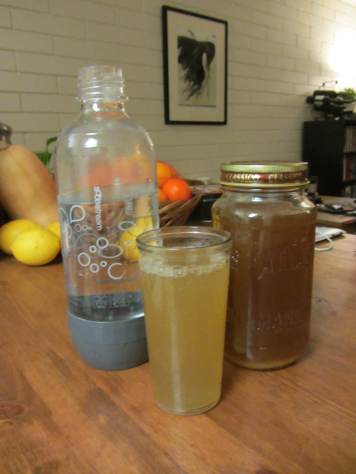 Mike is Bored: Homemade ginger ale recipe. Syrup method ...