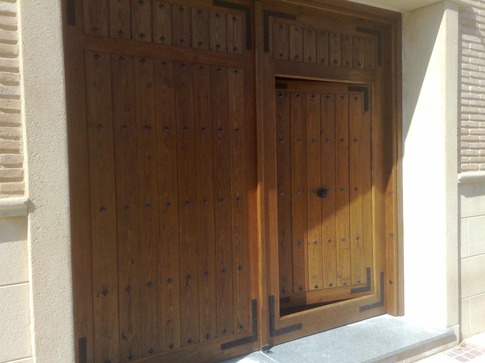Portones de madera fabritecma - Portones de madera para exterior ...