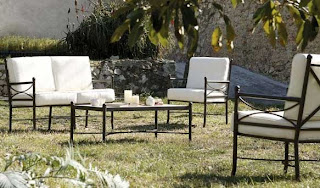 juego de sofas para terraza y jardin forja