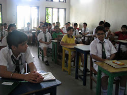 Students of Class 8