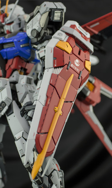 PG Aile Strike Gundam by ghost omni strike