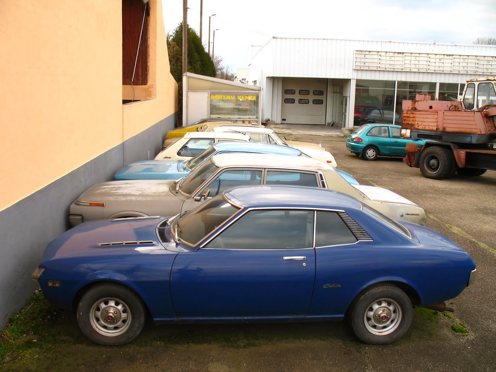 1970 1974 Toyota Celica St France 4 Spot A Car
