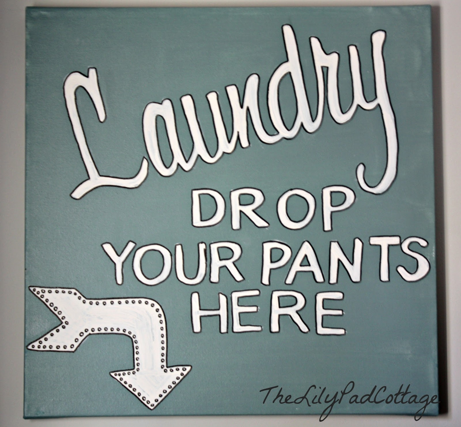 Laundry Sign The Lilypad Cottage - Laundry room signs
