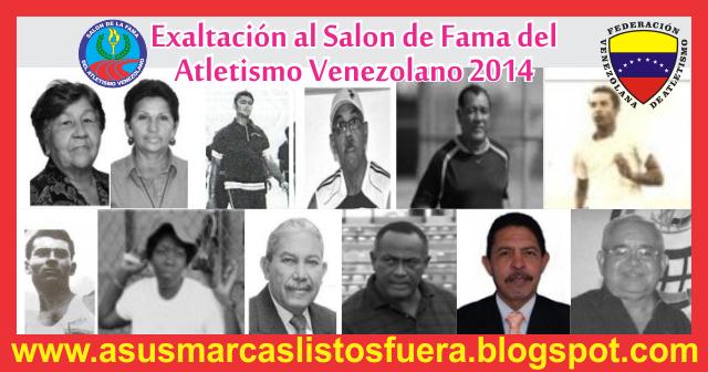 atletismo+venezuela+salon+de+la+fama+2014