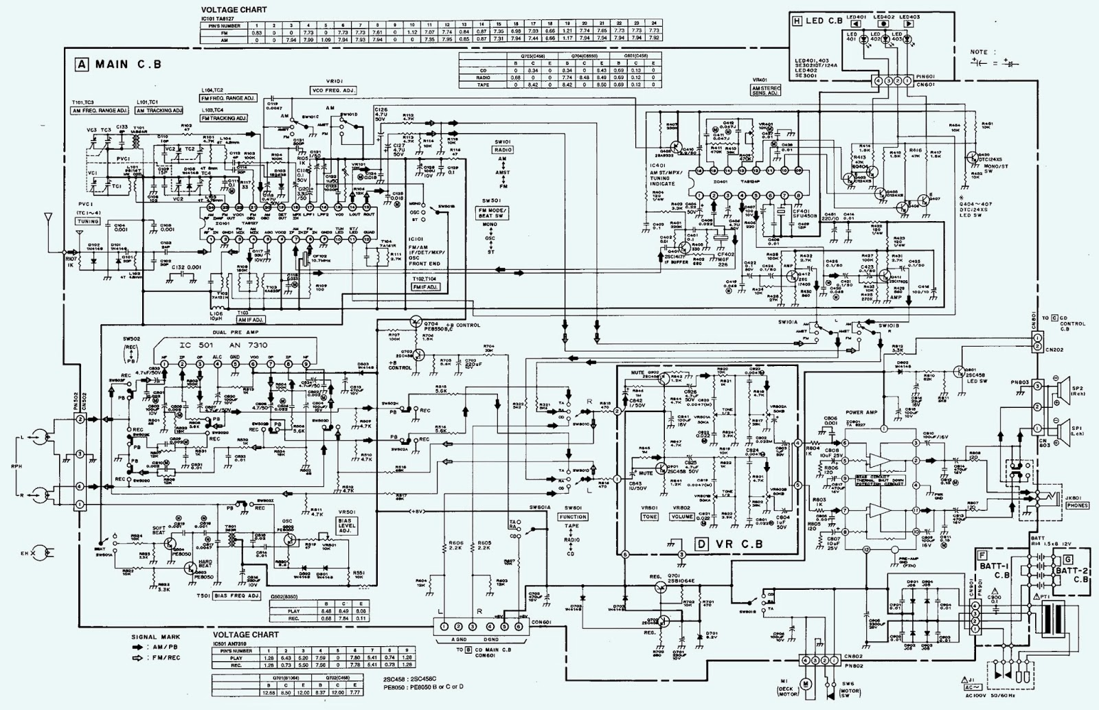 2.bmp aiwa csd ex110 schematic (circuit diagram) electro help aiwa cdc-x144 wiring diagram at bayanpartner.co
