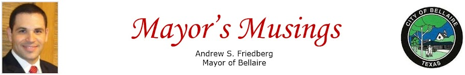 Mayor's Musings