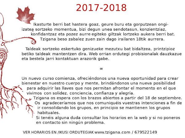 2017-18 Ikasturtea
