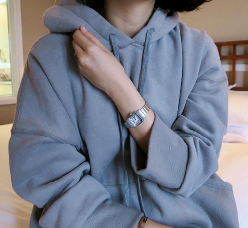 Drop Shoulder Pullover Hoodie