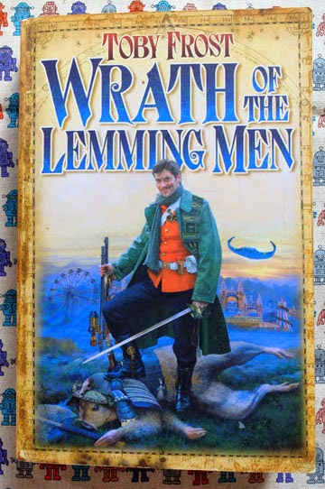 The cover of the book Wrath of the Lemming Men by Toby Smith