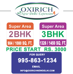 Oxirich New Delhi Extension Ghaziabad Flats