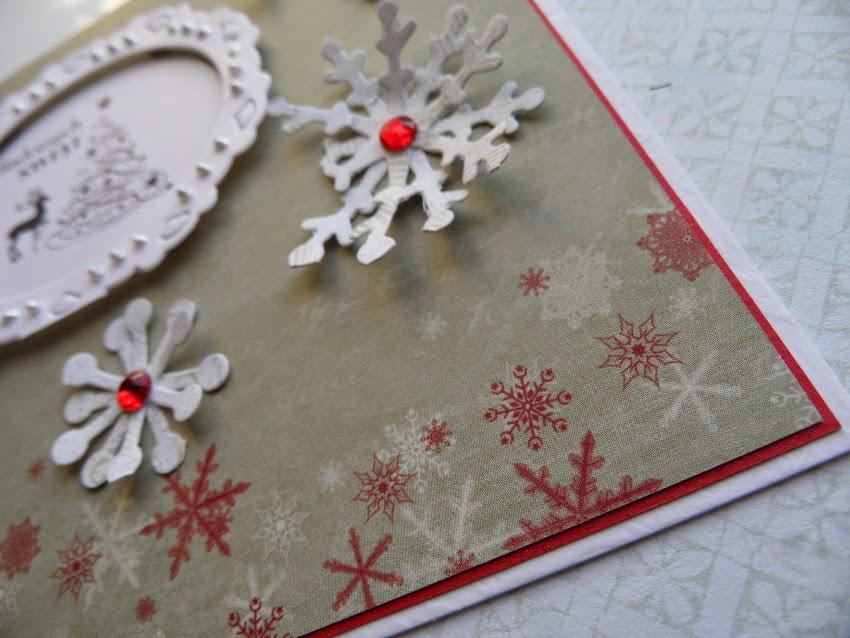 kartka Boże Narodzenie z jelonkiem