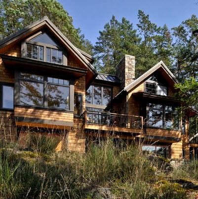 Fachadas de casas r sticas dise os y materiales - Casa y campo rustico ...