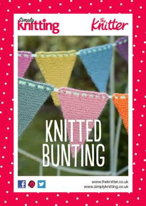 Eight By Six Knitted Bunting Free Pattern