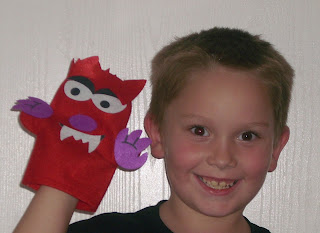 Puppets, puppet making, homeschool craft, homeschooling,