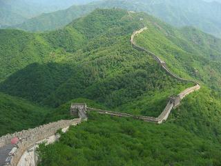 Bucho furado muros diab licos vidas simb licas for A muralha da china vista da lua