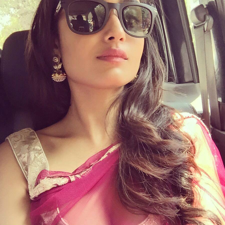 Tridha Choudhury saree