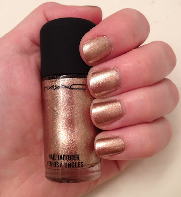 nails, nail polish, polish, lacquer, nail lacquer, M.A.C, M.A.C nail polish, mani, manicure, mani of the week, manicure of the week, M.A.C Soiree, MAC Soiree