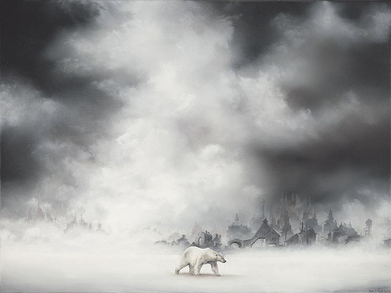 nuncalosabre. Pintura   Painting - ©Brian Mashburn