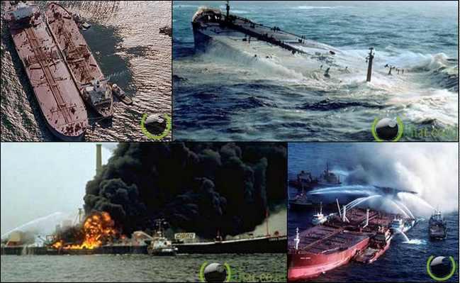 10 Peristiwa Kecelakaan Tanker Minyak terparah di Dunia