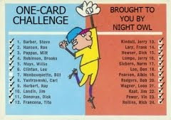 Night Owl's One-Card Challenge