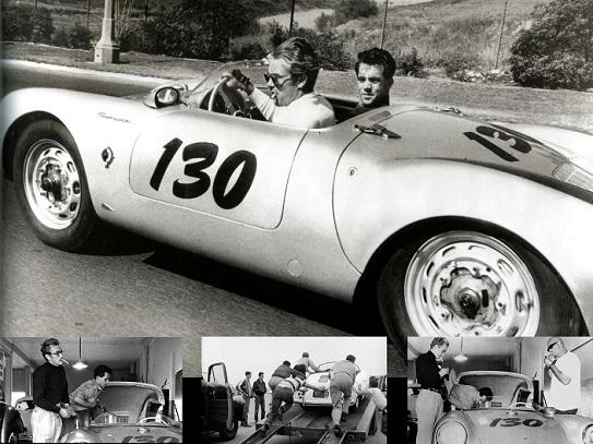 El Porsche de James Dean