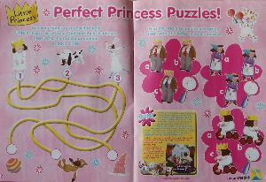 Pink Magazine. A maze and some spot the difference.