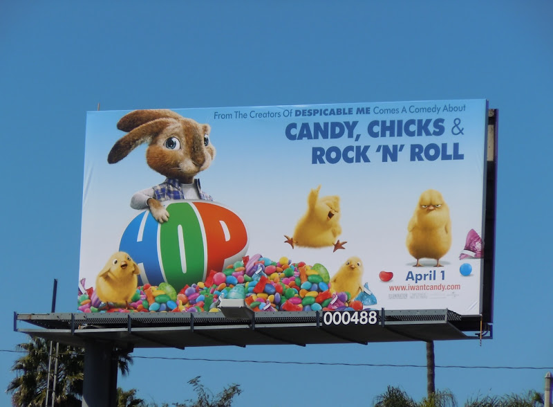 Candy, chicks Hop billboard