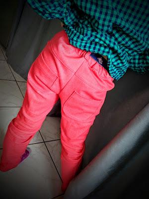 Pantalon Lolie Hop Ottobre élastique taille réglable