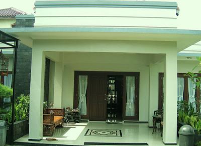 Bentuk teras rumah minimalis terbaru