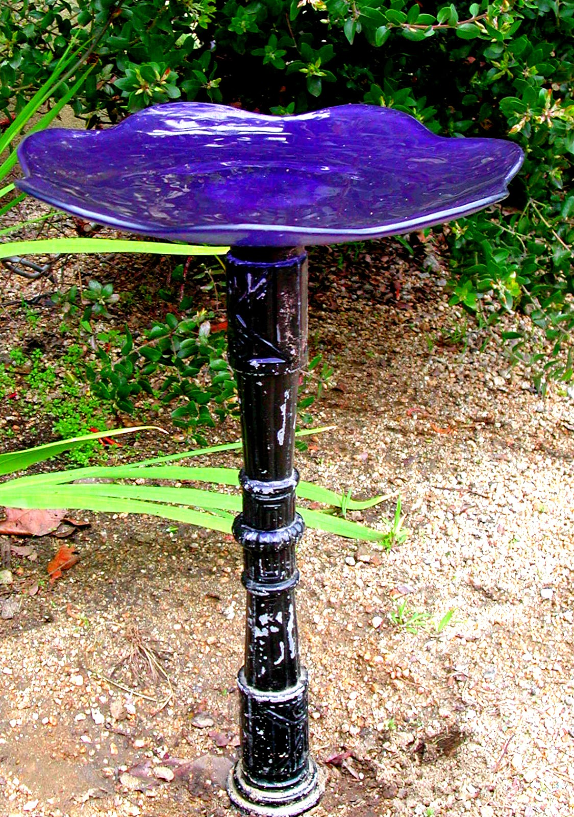 Fairy Yardmother Landscape Design: DIY Bird Bath