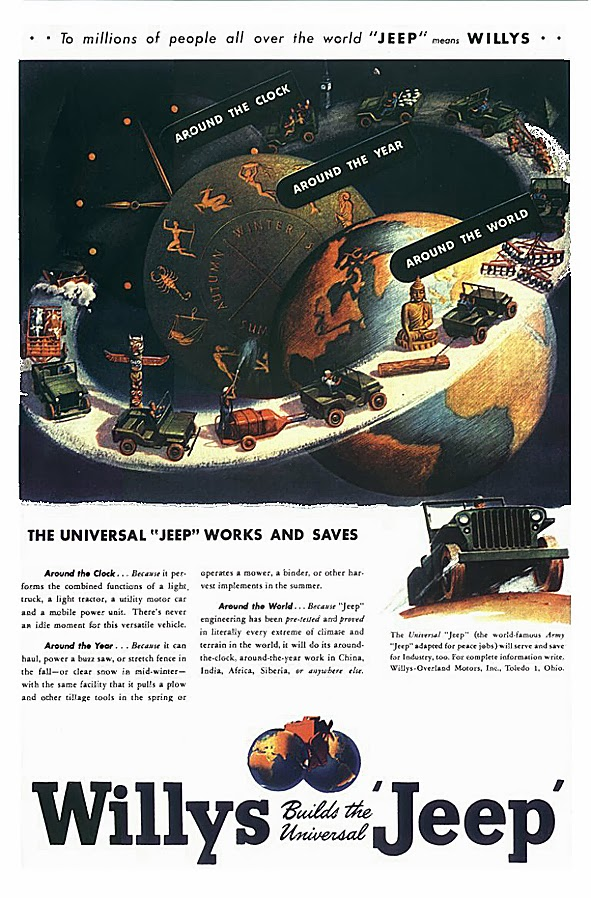 life time gear  vintage jeep ads from 1945  u2013 1947