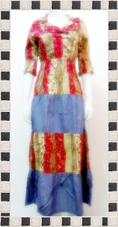 model dress batik pesta