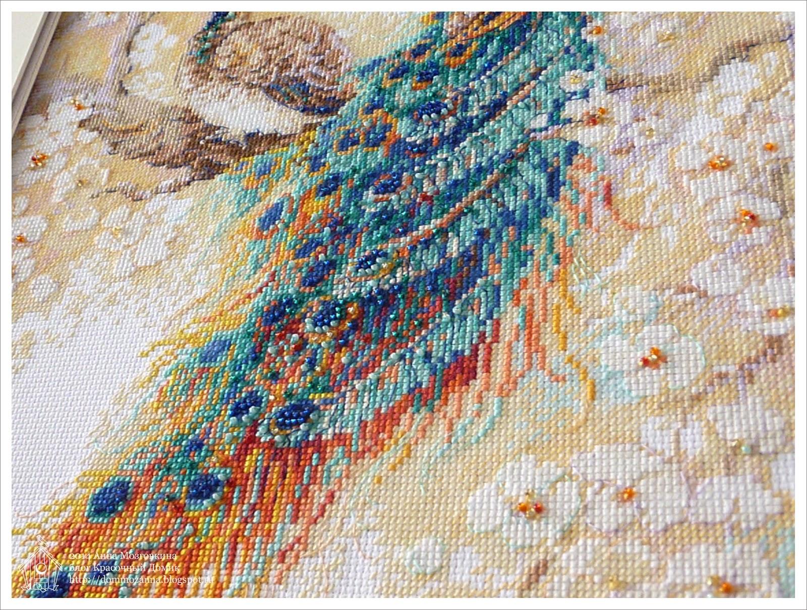 Фото вышивки персидский сад